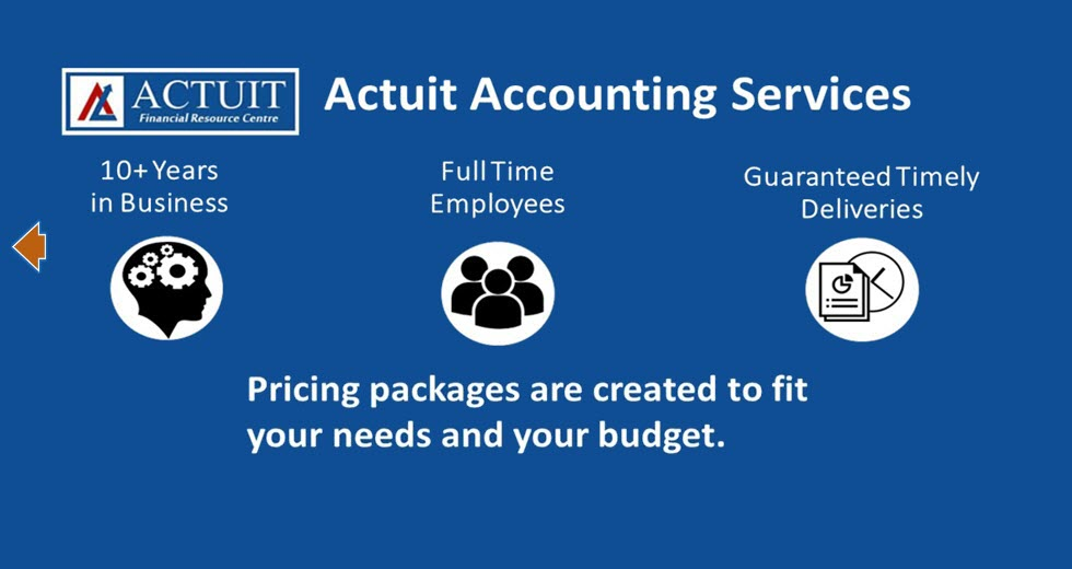 Outsourced Accountant Services